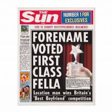 The Sun Best Boyfriend Newspaper